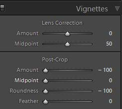 Black Film Border Settings
