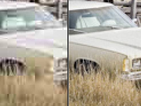 comparison of lightroom jpeg quality 0 to 100
