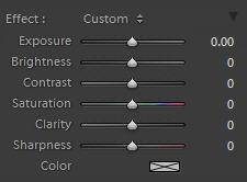 lightroom adjustment brush graduated filter settings