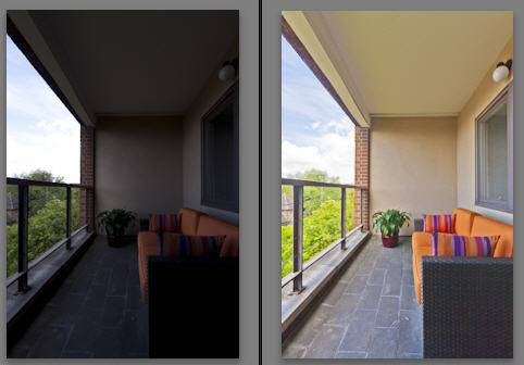 Before and After Lightroom Basic Panel Work