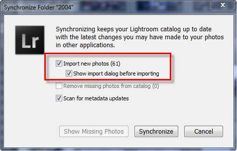 Not Sure All Your Photos Are in Lightroom? Have Lightroom Check for