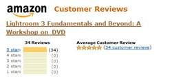 Amazon Reviews: Lightroom 3: Fundamentals and Beyond