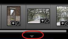 Hide and Unhide Lightroom Filmstrip