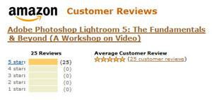 Amazon Reviews: Lightroom 5: The Fundamentals & Beyond