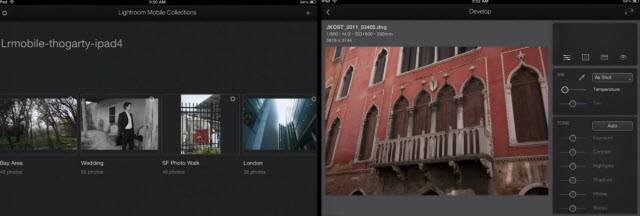 Lightroom Mobile Demo on iPad