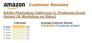 Amazon Reviews: Lightroom 5: Producing Great Output