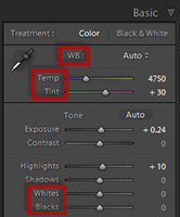 Lightroom 5.3 Shortcuts