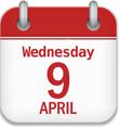 Wednesday April 9