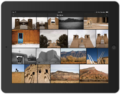 Lightroom mobile Grid View