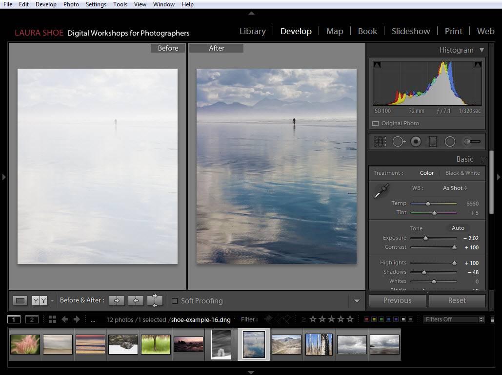 Lightroom Develop - Edit Photo