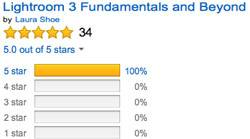Amazon Reviews: Lightroom 3: The Fundamentals and Beyond Reviews