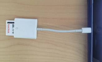 Connect Memory Card to iPad