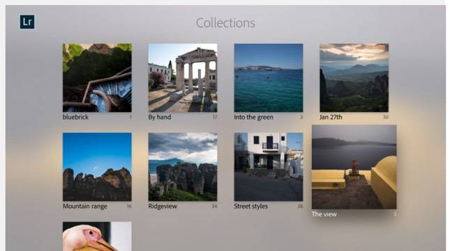 Lightroom for Apple TV
