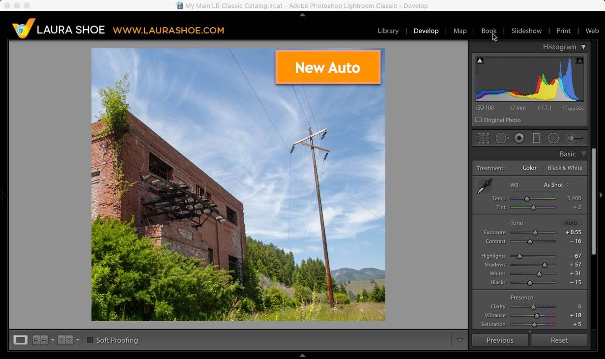 Lightroom: Old Auto-Tone vs New Auto