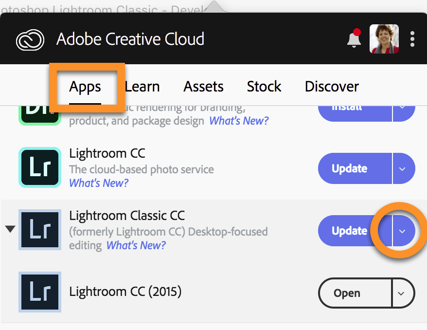 How to Revert to an Earlier Version of Lightroom Classic