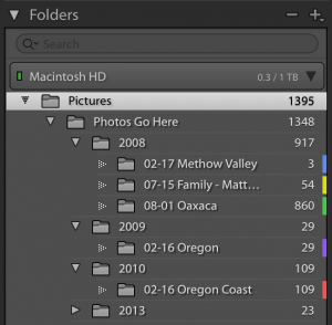 Add Color Labels to Lightroom Classic Folders