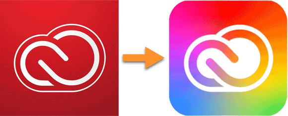Adobe Creative Cloud logo change